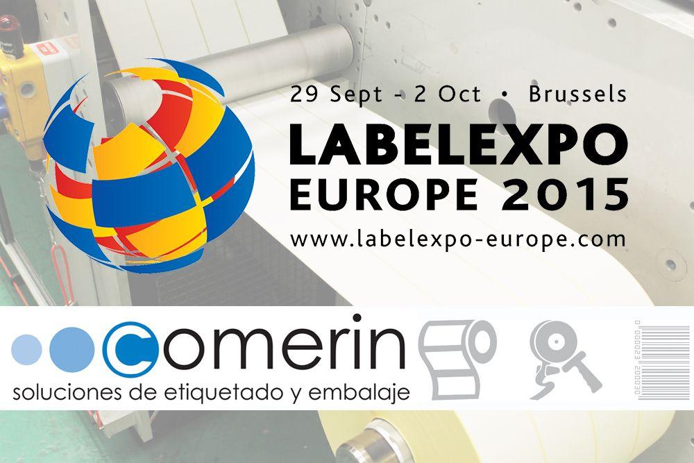 COMERIN en la Feria Labelexpo 2017