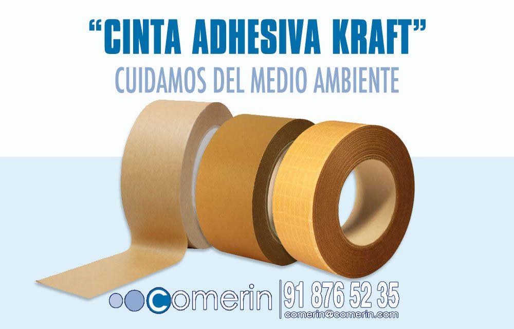 Cinta adhesiva Kraft, ecológica para el medio ambiente