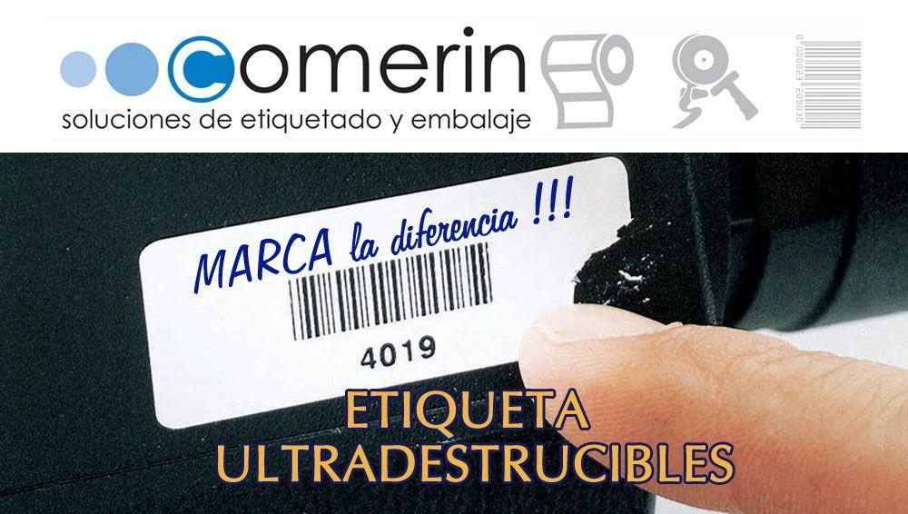 Controla tu mercancía a traves de los adhesivos ultradestructibles