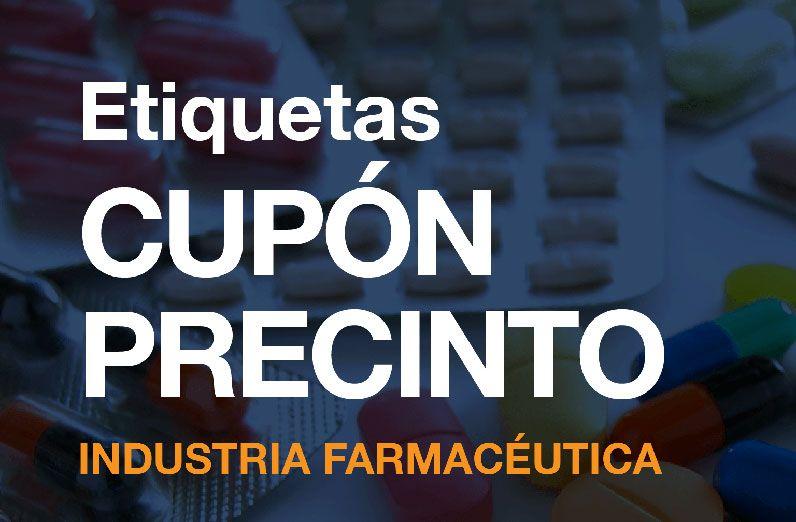 Etiquetas Cupón Precinto